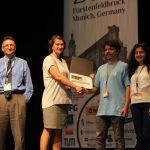 The Best Poster Presentation Award at IEEE WHC